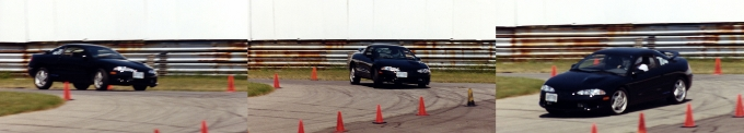 This is what driver-induced understeer looks like
